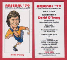 Arsenal David O`Leary Eire 5 (BR)